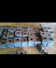 Анкерная плита фундаментная любого размера ГОСТ 24379.1-80